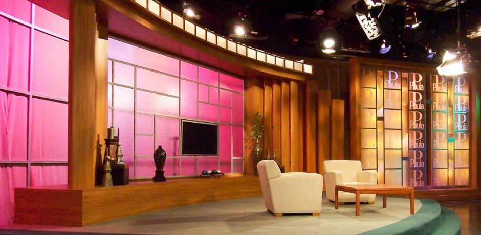 Talk Show Set Stage Sets Talk Show