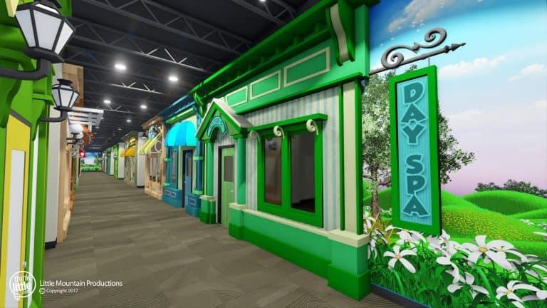 Store Front Hallway
