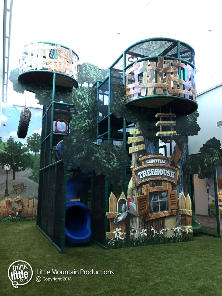 Central Treehouse Playscape