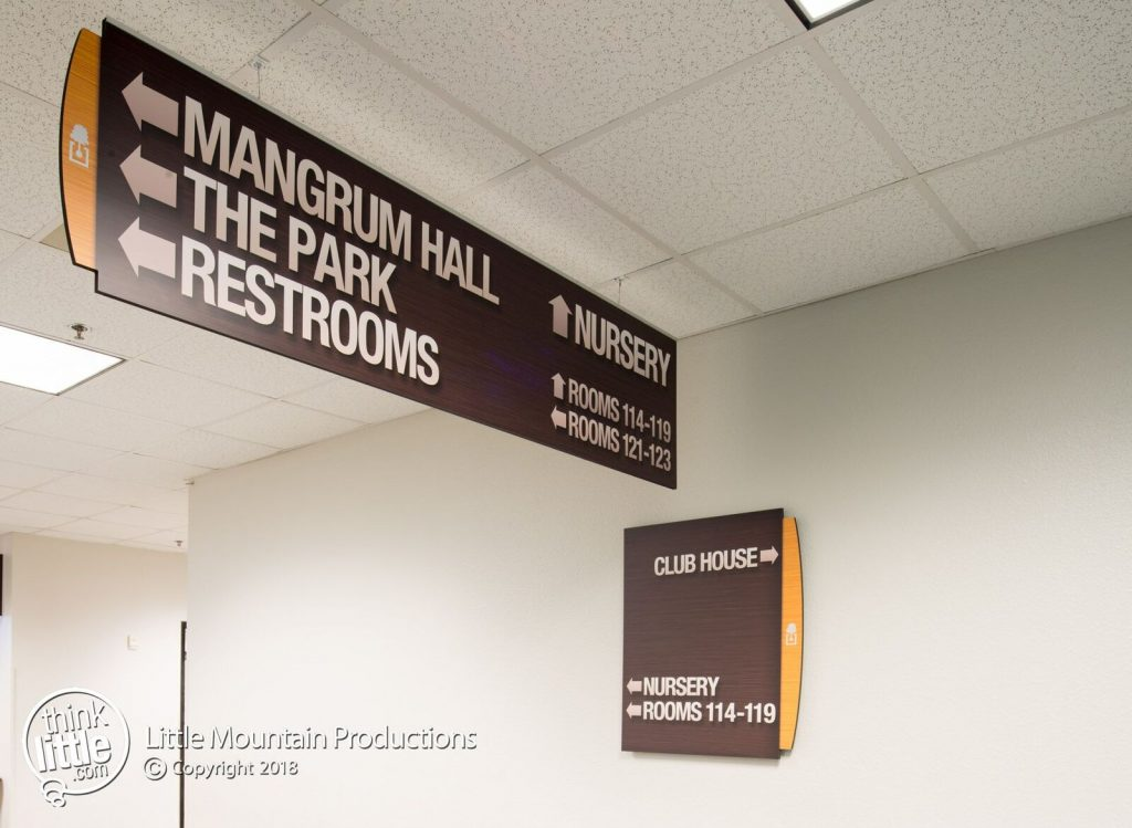 The Oaks Wayfinding Signs