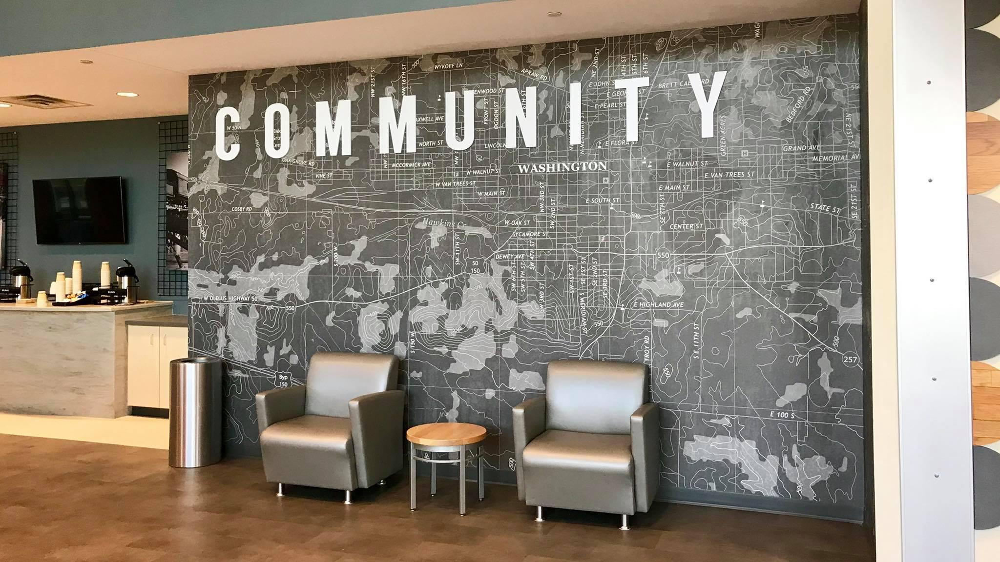 Bethany Community Wall