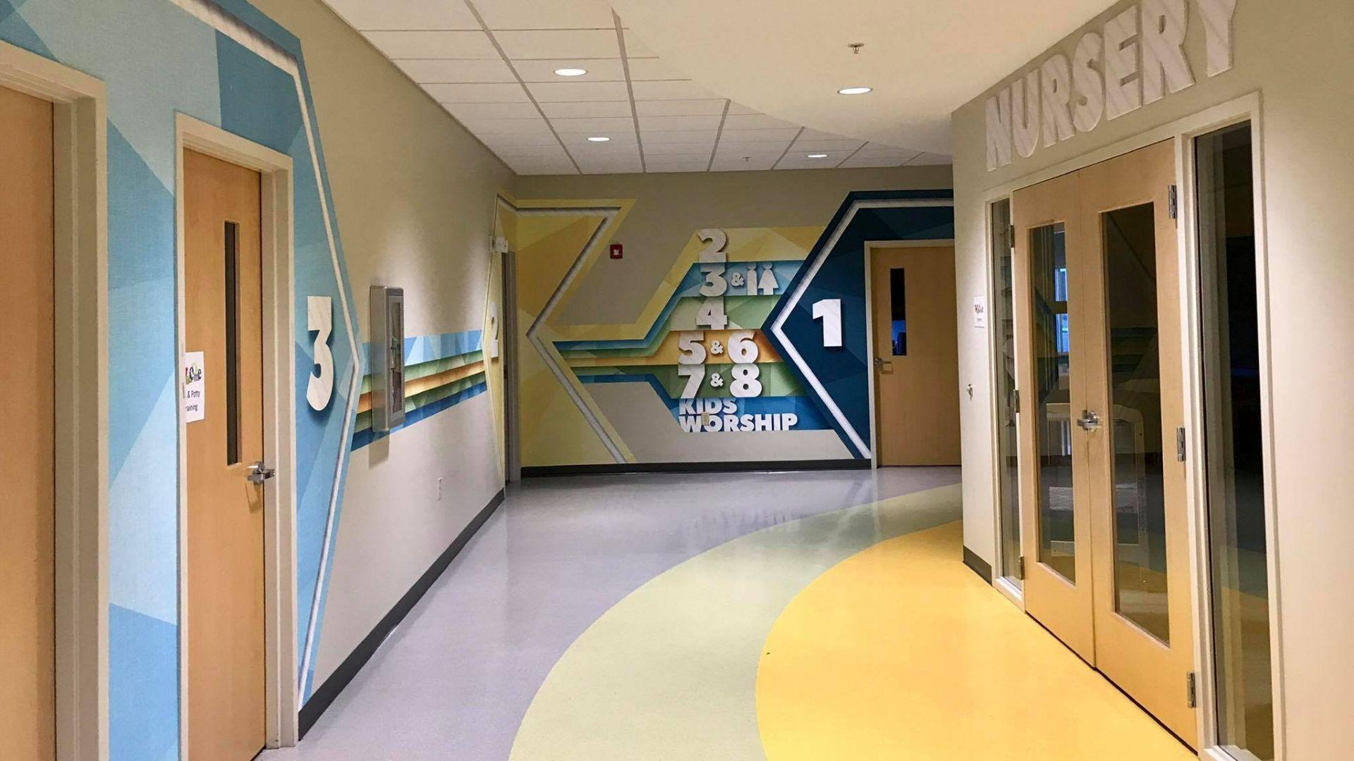 Bethany Kids Hallway 1