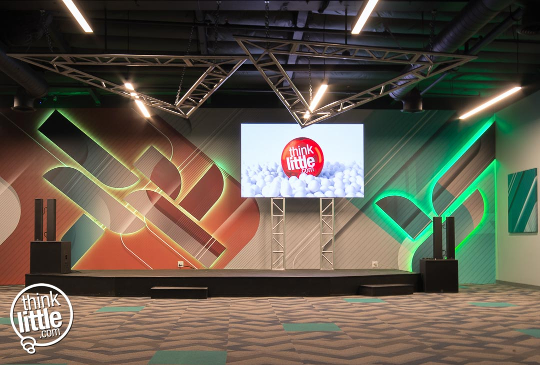 Kids Church LED Screens and Stage Design